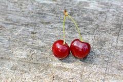 Яркие вишни Стоковая Фотография RF