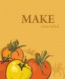 яркие вкусные овощи томатов Стоковые Изображения
