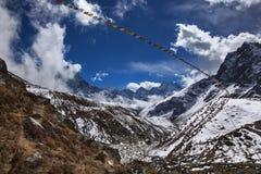 Яркие Гималаи Стоковая Фотография