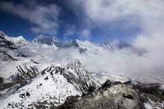Яркие Гималаи Стоковые Фото