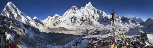Яркие Гималаи Стоковое фото RF