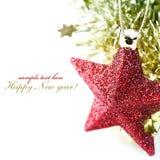 яркие звезды состава рождества Стоковые Фотографии RF