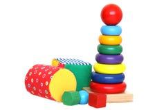яркие игрушки стоковые изображения