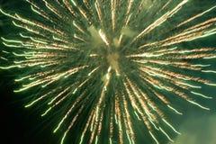 Яркие изумительные фейерверки Стоковые Фото