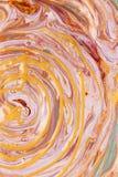 Яркие линии краски цвета Стоковое фото RF