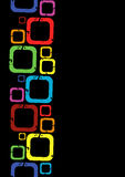 яркие квадраты Стоковая Фотография RF
