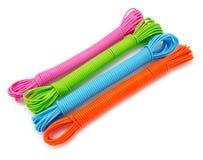 Яркие красочные веревочки Стоковые Фотографии RF