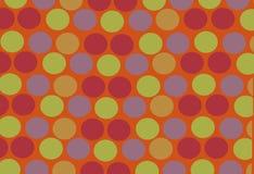 яркие круги цветастые Стоковая Фотография RF