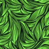 яркие листья делают по образцу безшовное иллюстрация штока