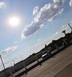 Яркие небеса стоковые изображения rf