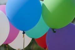 Яркие пестротканые воздушные шары Стоковое Фото