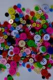 Яркие пестротканые кнопки Стоковое Изображение RF