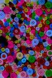Яркие пестротканые кнопки Стоковое Изображение