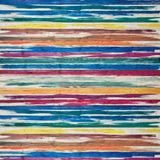 Яркие покрашенные деревянные доски стоковое изображение