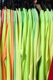 Яркие рубашки Стоковая Фотография