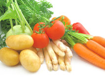 яркие свежие овощи стоковое изображение rf