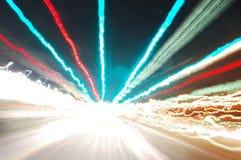 яркие света Стоковое фото RF