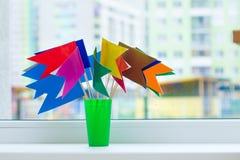 Яркие флаги Стоковое Изображение RF