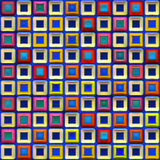 яркие цветастые плитки Стоковое Фото