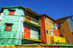 Яркие цвета в Буэносе-Айрес Стоковое Фото