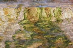Яркие цвета геотермического бассейна Стоковое Изображение RF