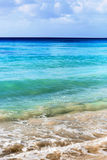 Яркие цвета пляжа Стоковые Изображения RF