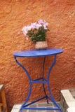 яркие цветы Греция Стоковое Изображение