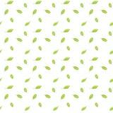 Яркие ые-зелен листья падают вниз. Безшовная картина растра. Иллюстрация штока