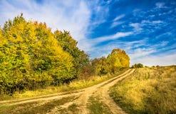 Яркий ландшафт осени Стоковые Фотографии RF