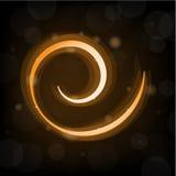 Яркий блеск и sparkle золота Стоковое Изображение RF