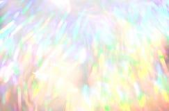 Яркий блеск освещает defocused предпосылку Стоковые Фото