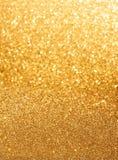 яркий блеск предпосылки золотистый Стоковые Фотографии RF