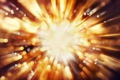 Предпосылка взрыва Стоковая Фотография RF