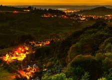 Яркий в долине стоковые фотографии rf