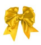 Яркий желтый смычок   стоковое изображение