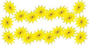 яркий желтый цвет весны lei цветков Стоковое фото RF