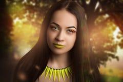 яркий желтый цвет Стоковые Изображения RF