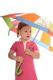 яркий зонтик стоковые фотографии rf