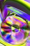 Яркий компакт-диск Стоковая Фотография