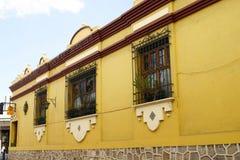 яркий мексиканец дома типичный Стоковая Фотография