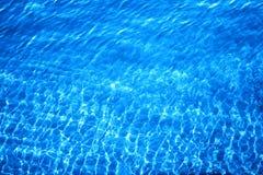 Яркий океан предпосылки фото Стоковое Изображение RF