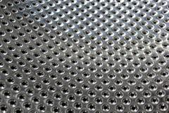 яркий пефорированный металл Стоковое Изображение RF