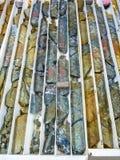 Яркий покрашенный буровой колон Стоковая Фотография RF