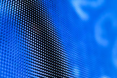 Яркий покрашенный голубой экран smd СИД Стоковая Фотография