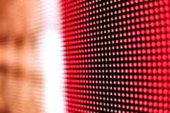 Яркий покрашенный желтый цвет и красный экран smd СИД Стоковые Изображения RF