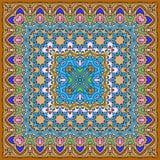 Яркий покрашенный носовой платок Стоковые Изображения RF