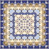 Яркий покрашенный носовой платок Стоковое Изображение
