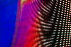 Яркий покрашенный экран smd СИД Стоковые Изображения