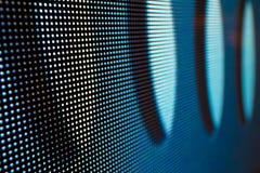 Яркий покрашенный экран smd СИД Стоковое Изображение