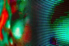 Яркий покрашенный экран smd СИД Стоковые Изображения RF